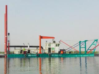 印度HID6024P挖泥船
