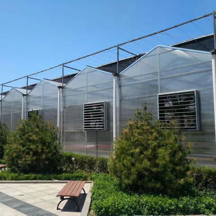阳光板温室建造商|哪里有提供靠谱的PC板温室