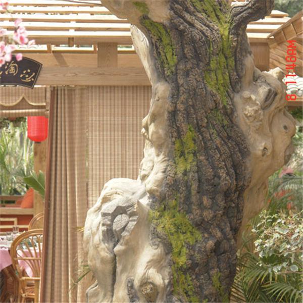 西安水泥树制作