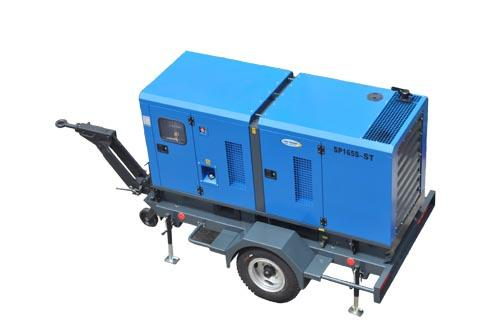 【拖车发电机组】移动拖车式发电机组的工作原理分析 一台拖车发电机组的厂家报价是多少钱