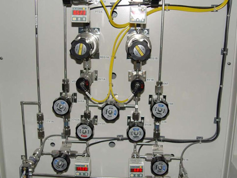 保定实验室气路系统