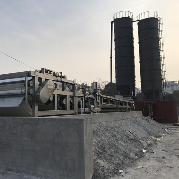 制革厂污泥处理带式压滤机