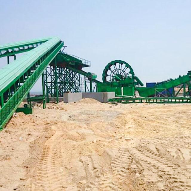 横川风化砂洗沙机工作原理