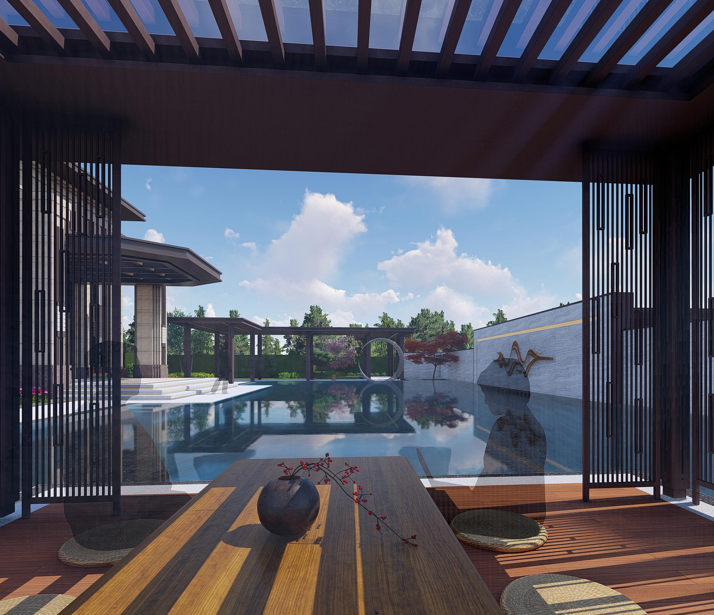 宝信龙港地产景观设计