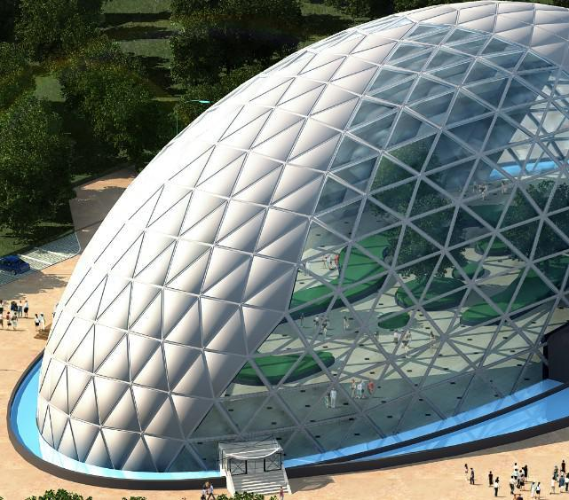 PTFE+ETFE膜结构建筑