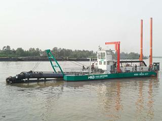 陕西渭南HID4016挖泥船