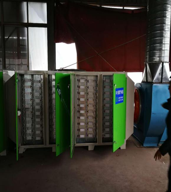 工业废气VOCs处理工程—步隆工贸