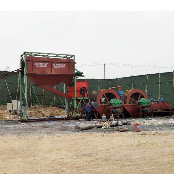 山东水轮洗沙机