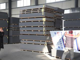 铝塑复合板成品仓库